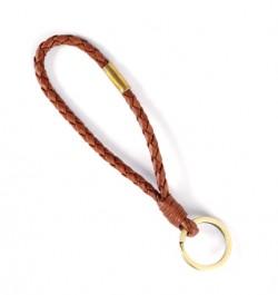 Leather-keyring-Brown-Short-Line-01